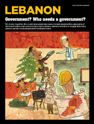 LEBANON: Government? Who needs a government?