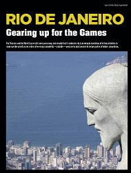 RIO DE JANEIRO: Gearing up for the Games