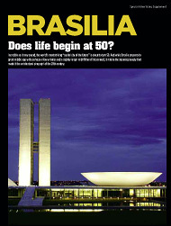 BRASILIA: Does life begin at 50?