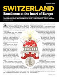 SWITZERLAND: Excellence at the heart of Europe