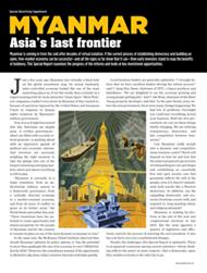 MYANMAR: Asia's last frontier