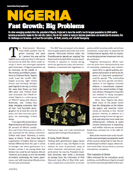 NIGERIA: Fast Growth; Big Problems